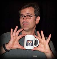 Bruce Campbell Endorses Lance and Eskimo Mug